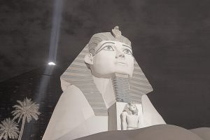 The Sphynx of Luxor by secondclaw