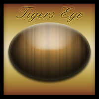 Tigers Eye Gem Stone by yrmybybl