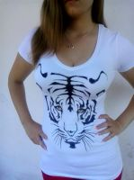 Tiger Madness! T-shirt design by me by turanneth
