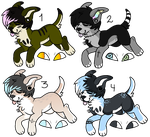 canine adopts [CLOSED] by Escaboo