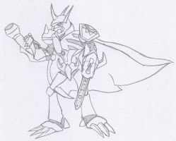 Omnimon: Hero of Justice by Sol-Domino