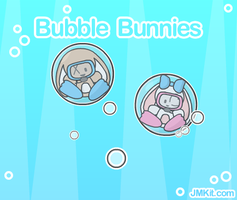 Bubble Bunnies by JinxBunny