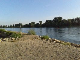 On the Bank of the Danube by theWitchofGrich