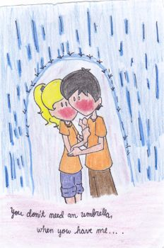 Percabeth: Umbrella by bratitude123