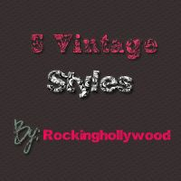 O8. Vintage styles by rockinghollywood