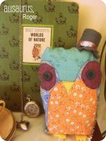 Mr Roger Owl. by alannah-the-pirate