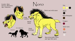 Noro Reference Sheet by Vampynella