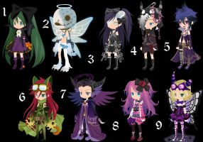 Emo-Gothic Adopts Offer to adopt CLOSED by AdoptableSoulxHeart