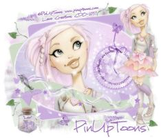 Pin Up Toons by LenasCreations