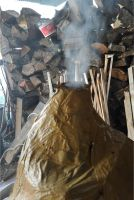The paper furnace burning itself by MissUmlaut