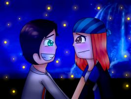 Kiss The Girl Finished by Michioreo123