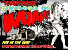 Zombie Years Issue 2 CVR by FWACATA