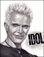 Billy Idol by Amelia-Beth