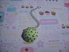 mint chocolate chip cell charm by toxiclysweet