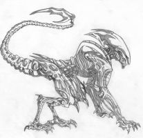 Panther Alien. by extintion
