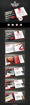 12 Page Case Study Brochure Template by ramijames
