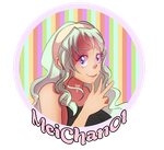 MeiChan Logo by SuperMarioSweetie