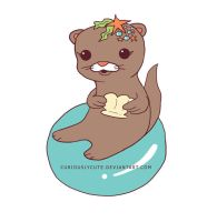 Pretty Otter by curiouslycute