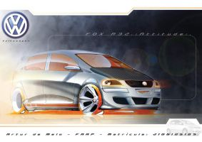 Volkswagen.:FOX R32:. ATTITUDE by r2design