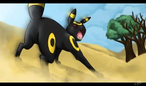 Umbreon. by RoxiBeFox