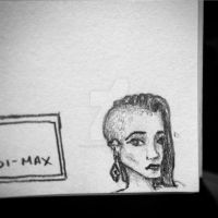 Notes Sketch - Lady with an earring by littlewaysoul
