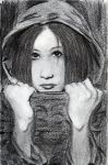 Ryutaro - pencil study by Percephone