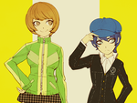 Me and Chie by AskNaotoShiro