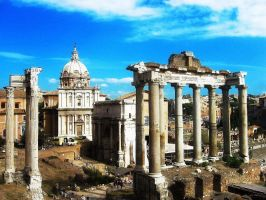 The Ancient city of Rome by FiorellaDePietro