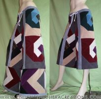 4-Elements-Sacred-Spiral-Patchwork-Pants-Flare by RedheadThePirate