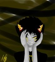 Sollux sad by NicoTheChan
