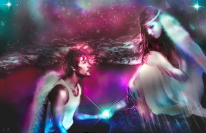 FOREVER ANGELS by L-A-Addams-Art