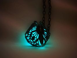 Glow in the Dark - Glow in the Dark Butterfly by MySoulShards