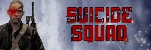 Suicide Squad - Deadshot Banner by PaulRom
