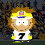South Park Valentino Rossi by Heather-Briana