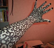 Swirly arm by SofiaAlexandra