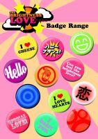 the brightness love: badges by jesse1313