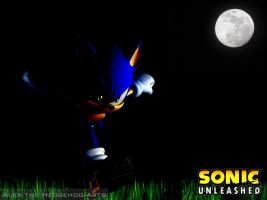 Wallpaper Sonic Unleashed by AlexTHF