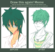 Draw this Again: Before and After by Risoru