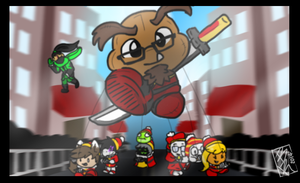 A Gaijin Thanksgiving Parade! by BKcrazies0