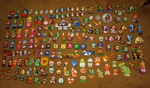 Mario Perler Collection by Pika-Robo