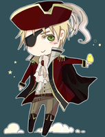 APH - Chibi Pirate UK by Vaindelled