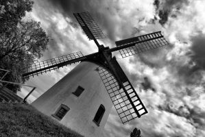 A Windy Mill by phIIllIIpp