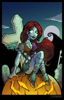 Sally Nightmare Before Xmas by angieness