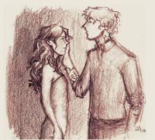 Clary and Jace by SomeoneToRelyOn