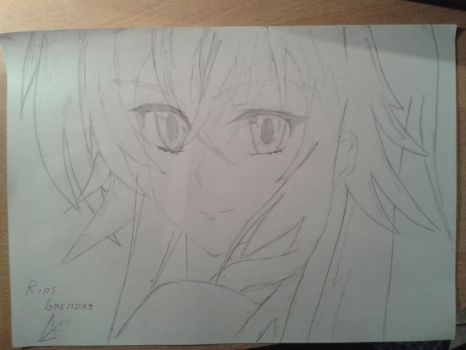 Rias Gremory by besilsoul96