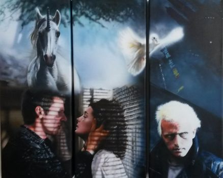 Blade Runner painting - Finished! by SimonaZ