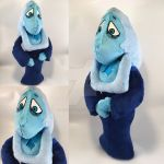 Blue Diamond Custom Plush by BeeNerdishCrafts