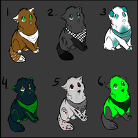 Dog Adoptables 1 by AdoptableSky