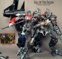 Fall of The Fallen custom set by Unicron9