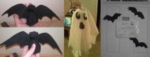 Makeshift Halloween Decorations by CrypticGrin